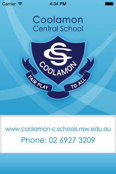 Coolamon Central School poster