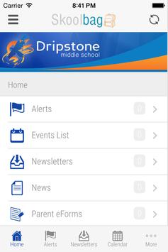 Dripstone MS - Skoolbag screenshot 1