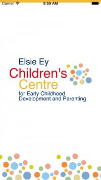 Elsie Ey Children's Centre poster