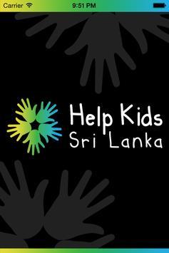 Help Kids Sri Lanka poster