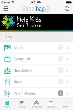 Help Kids Sri Lanka apk screenshot
