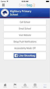 Highbury Primary School apk screenshot