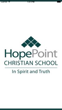 HopePoint Christian School poster