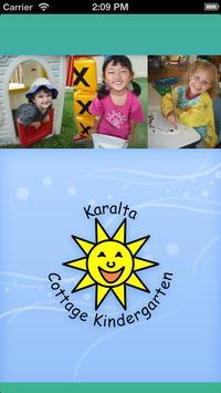 Karalta Cottage Kindergarten poster