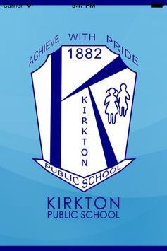 Kirkton Public School poster