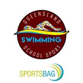 Qld School Sport Swimming icon