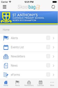 St Anthony's Nth Rockhampton apk screenshot