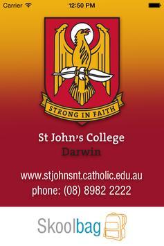 St John's C College Darwin poster