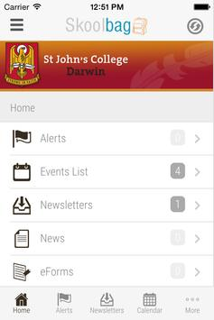 St John's C College Darwin screenshot 2