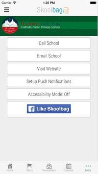 St Justin's Oran Park Skoolbag apk screenshot