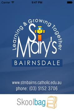 St Mary's Primary S Bairnsdale poster