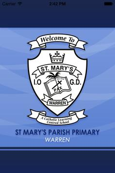 St Mary's Parish PS Warren poster