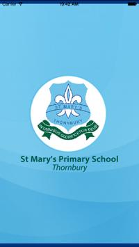 St Mary's PS Thornbury poster
