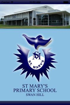 St Mary's PS Swan Hill poster
