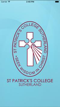 St Patricks College Sutherland poster