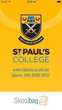 St Paul's Gilles Plains poster