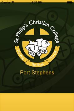 St Philip's CC Port Stephens poster