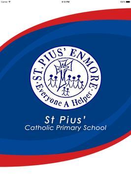St Pius' Catholic PS Enmore poster
