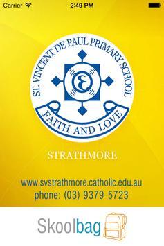 St Vincent De Paul Strathmore poster