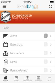 Scarborough SS - Skoolbag apk screenshot