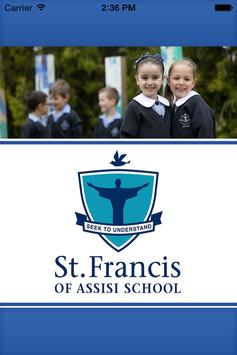 St Francis of Assisi Mill Park poster