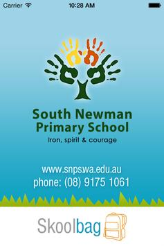 South Newman - Skoolbag poster