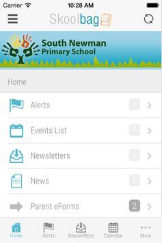 South Newman - Skoolbag apk screenshot