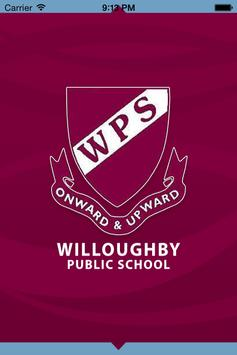 Willoughby Public School poster