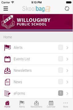Willoughby Public School screenshot 1