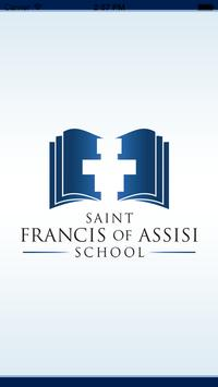 St Francis of Assisi School poster