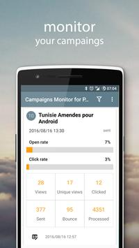 Campaigns Monitor for PhpList poster