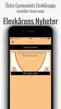 Östra Gymnasiets Elevkårsapp apk screenshot