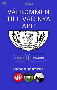 Bromma Gymnasiums Elevkårsapp poster