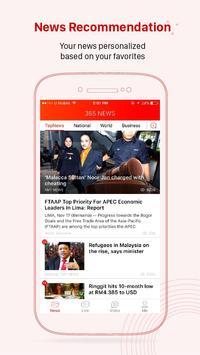 Malaysia News -365 NEWS poster