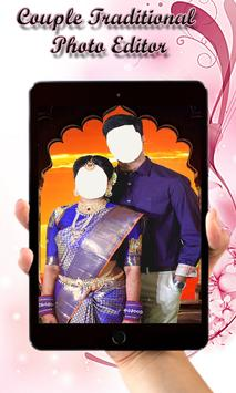 Couple Traditional Photo Editor poster