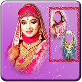 Bridal Hijab Photo Montage icon