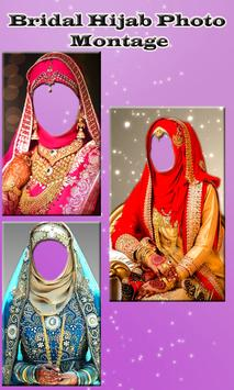 Bridal Hijab Photo Montage poster