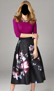 Women Mini Skirt Photo Suit poster