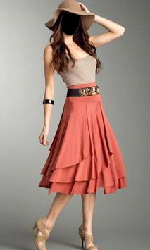 Women Mini Skirt Photo Suit screenshot 1