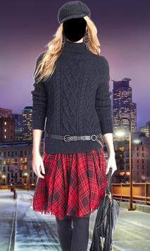 Women Mini Skirt Photo Suit screenshot 2