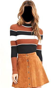 Women Mini Skirt Photo Suit screenshot 4