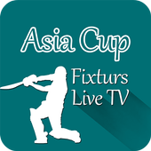 Asia Cup Fixtures and Live TV icon
