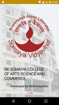 SK Somaiya poster