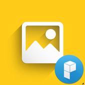포토 갤러리 카드 for 런처플래닛 icon