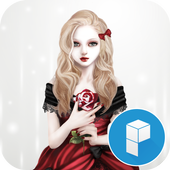Vampire Girl Launcher Theme icon