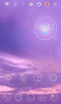 Violet Fragrance Theme apk screenshot