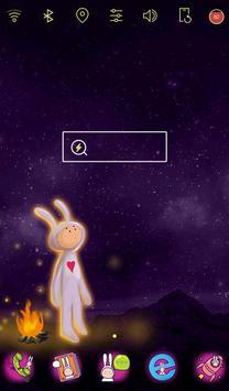 Wonderland Rabbit live theme poster