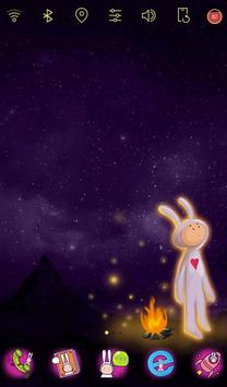 Wonderland Rabbit live theme screenshot 1