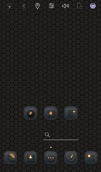 Black Block Launcher theme apk screenshot