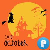 LaRa Calendar-Happy Halloween icon